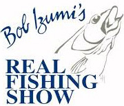 Bob Izumis Real Fishing Show Logo