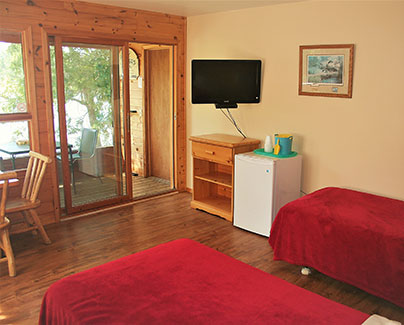 Private And Comfortable Cabins
