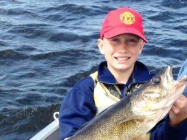 Kyle Schmidt 30.5in Walleye