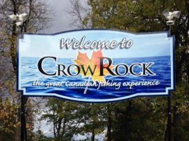 Crow Rock Sign