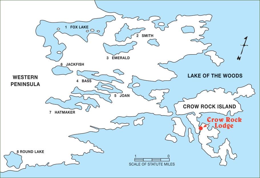 Crow Rock Remote Lakes