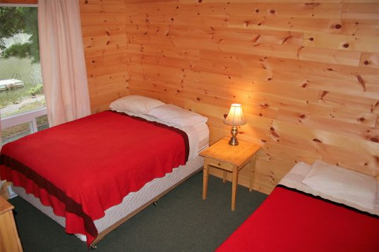 Inside Cabin Bedroom