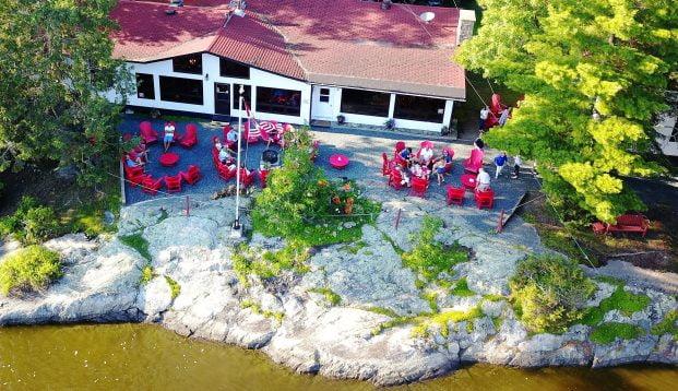 Main Lodge Aerial Shot